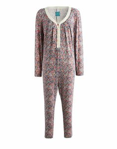 An all-in-one sleep suit made for making cold nights in cosier. Great for sleeping in style and chilling out in those chilly months. In a super-soft and stretchy fabric with details and prints beyond compare. Ditsy, Joules, Nightwear, All In One, Onesies, Pajama Pants, Jumpsuit, Chilling, Bedtime