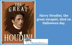 Celebrities Facts : Harry Houdini | did you know