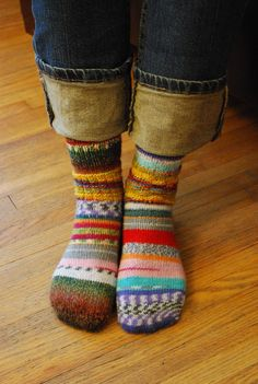 Just make hundreds of the same size socks with all different colors! no need to match socks ever again!!!