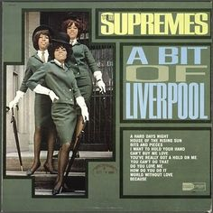 """""""A Bit Of Liverpool"""" (1964, Motown) by The Supremes.  Their third LP."""