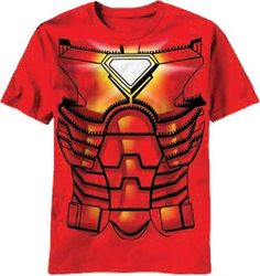 Iron Man Costume Shirt - #halloween #cosplay #marvel #comics #tees