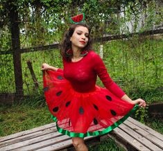 Carnival gives you the freedom to be anything. So why not a watermelon? Watermelon Costume, Carnival Ideas, Creative Costumes, Freedom, Cute, How To Wear, Inspiration, Costumes, Liberty