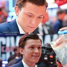 I think he's gonna be really good as Spiderman.  : Creds to @super__avengers  #fitzsimmons #marvelsagentsofshield #marvel #sciencebabies #shield #agentsofshield #aos #civilwar #secretwarriors #leofitz #inhumans #spiderman #tomholland