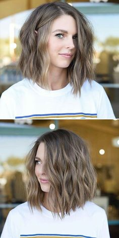 Most Trendy Women Hairstyles Ideas - Sensod - Create. - Short women hairstyles Most Trendy Women Hairstyles Ideas - Sensod - Create. - Short women hairstyles - Are you looking for your next hair . Messy Short Hair, Short Hairstyles For Thick Hair, Hairstyles With Bangs, Short Hair Cuts, Hairstyle Ideas, Short Wavy, Hairstyles Men, Layered Hairstyles, Easy Hairstyle