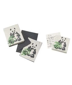 PANDA POO PAPER | Panda Poop, Papers, Notepad, Journal, Greeting Cards, Bamboo | UncommonGoods