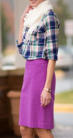Outfit inspiration-  the skirt a bit longer though