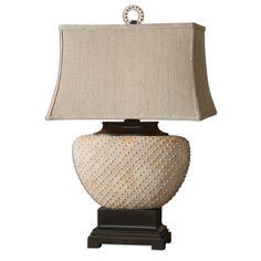 "Found it at Wayfair - Cumberland 29"" H Table Lamp with Rectangular Shade"