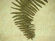Fern Star in Moss – Lauren Liess Lauren Liess, Fern Frond, Fabric Pictures, Luxury Interior Design, Star Designs, Better Homes And Gardens, Boho Pillows, Natural Linen, Ferns