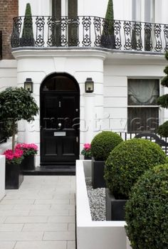 in good taste blog | front porch | Pinterest | Black front doors ...