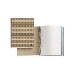 Libreta de papel reciclado azteca - Cero Residuo Tienda Online Office Supplies, Notebook, Aleppo Soap, Dental Floss, Grid, Spirals, Soaps, Exercise Book, The Notebook