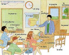 el sal243n de clases se habla pinterest espagnol