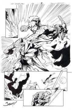 Mark Bagley, Comic Styles, Stan Lee, Comic Art, Spiderman, Artworks, Marvel, Comics, Artist