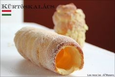 Kürtőskalács (Pasteles de chimenea)