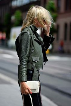 Coloured Leather Jackets