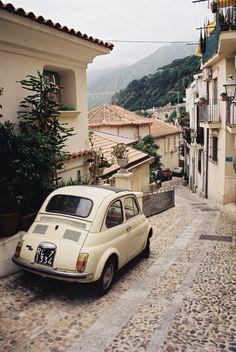 Fiat 500 Calabria Scilla RC #TuscanyAgriturismoGiratola