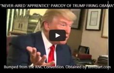Never-Aired Trump Parody Firing Obama - Thoughtful Women