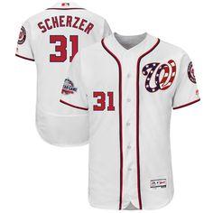 Max Scherzer Washington Nationals Majestic 2018 All-Star Game Home  Alternate Flex Base Player Jersey – White fe6148350