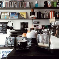 Copenhagen | Kaffe & Vinyl | Located on Skydebanegade 4, this vinyl record shop is also a magnificent little coffee shop. Can't get better than that, can it?