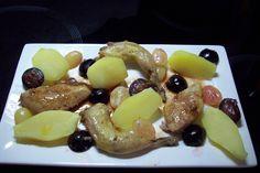 Caille aux raisins