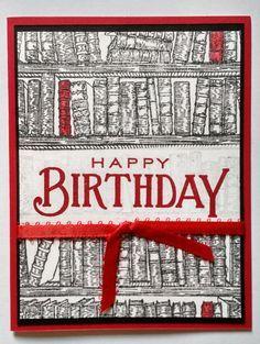 Book Lover Librarian Birthday Reader School by TwoYellowDaisies