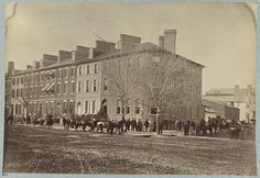 Headquarters of Gen. M. D. Hardin, Washington, D.C., April, 1865