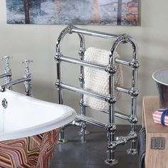 Here at UKAA we have just advertised the new range of Colossus Bathroom Towel Rails. These are available in a number of heights and finishes. For more information please visit www.ukaa.com #ukaa #towel rail #bathroominterior #bathroomideas #interiordesigner #stylish #countryhome by ukarchitectural Bathroom designs.