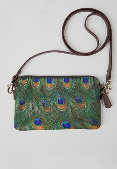 VIDA Statement Bag - Peacock Parade Bag by VIDA