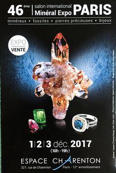 Les 1-2-3 décembre 2017, de 10h à 19h, j'aurai le plaisir de vous accueillir sur notre stand « Stephen Rosenberg Gemmology » au Salon des Minéraux et Bijoux de Paris à l'espace Charenton. Tous les détails sur stratagemme.com Au plaisir de vous y retrouver #bijoux #mineraux #stratagemme #artisanat #gemme #createurfrancais #createur #joaillerie #jewels #mode #fashion #france #paris Expo Paris, Photos, Movie Posters, Rocks, France, Natural Wonders, Fossils, Living Room, Jewelry