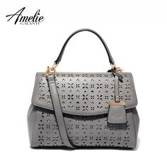 Trapeze hollow out handbag fashion pu totes cover hard versatile