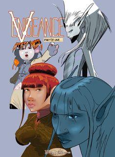 """Couverture de """"Vengeance - partie 1"""" de Gwenran."""