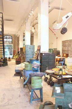Felicie Aussi - mobilier style loft Bruxelles
