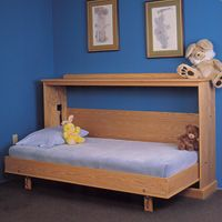 ... Up Beds on Pinterest | Murphy Bed Desk, Murphy Beds and Bed In Wall