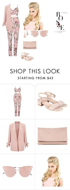 """""""Untitled #112"""" by shad80880 ❤ liked on Polyvore featuring Boohoo, Miss Selfridge, Sole Society and So.Ya"""