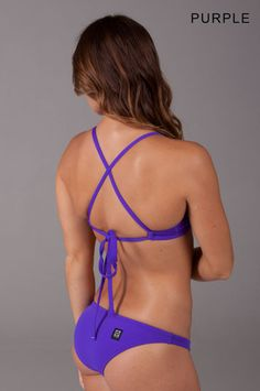Jolyn Swimwear, bikinis that actually stay on when swimming in the ocean. (Worn by the US Women's Olympic water polo team)