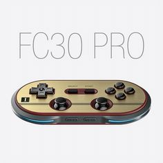 8Bitdo FC30 Pro Wireless Bluetooth Gamepad Controller Gamepad Game for iOS Android PC Mac Linux Retro Design