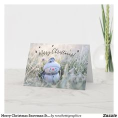 Merry Christmas Snowman Stickers Envelope Seals Card Business Christmas Cards, Holiday Cards, Christmas Snowman, Merry Christmas, Personalised Christmas Cards, Custom Greeting Cards, Christmas Card Holders, Seals, Thoughtful Gifts
