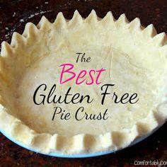 Best Gluten Free Pie Crust with Gluten Free All Purpose Flour Mix, Salt, Unsalted Butter, Large Egg, Water.