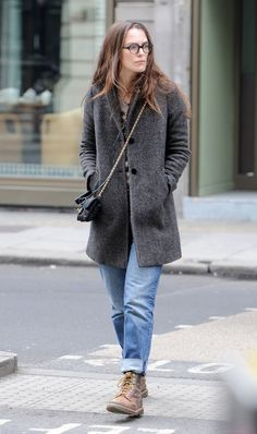 Keira Knightley #streetstyle