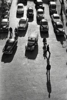 Georges Févre La place de la Nation, Paris, 1950