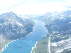 helicopter over canmore