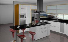 casas, cocinas, mueble: Islas de cocinas modernas