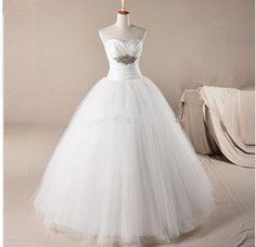 >> Click to Buy << Plus size Wedding dress Brief Princess Wedding Dress ball gown wedding gown Vestido de noiva #Affiliate
