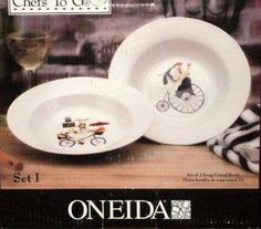 These soup or salad bowls are from the Chefs to Go Collection from Jennifer Garant and made by Oneida. $12.95
