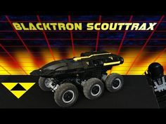 Jenni ♥ Nexus: Blacktron Scouttrax: Hot Pursuit