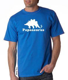 f6e35992 Items similar to Papa shirt, papa dinosaur shirt, grandpa gift, mens  dinosaur shirt, stegosaurus shirt, papa gifts on Etsy. Daddy DayFathers ...