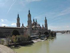 Basílica de Nuestra Señora del Pilar en Zaragoza, Aragón