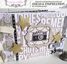 TERESA COLLINS DESIGN TEAM: Noted Mini by Yvonne Blair allscrapbooksteals.com 40% off all day, everyday!