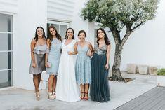 Bridesmaid Dresses, Wedding Dresses, Studio, Color, Fashion, Bridesmade Dresses, Bride Dresses, Moda, Bridal Gowns