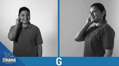 Tema: El Abecedario (Lenguaje de Señas Guatemala) • A • B • C (2) • D • E • F • G • H • I • J • K • L • LL • M • N • Ñ • (2) • P • Q • R • RR • S • T • U • V...