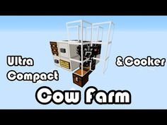 Ultra Compact Cow Breeder and Cooker (1.7.2) - YouTube